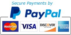 PayPal & CC Badges
